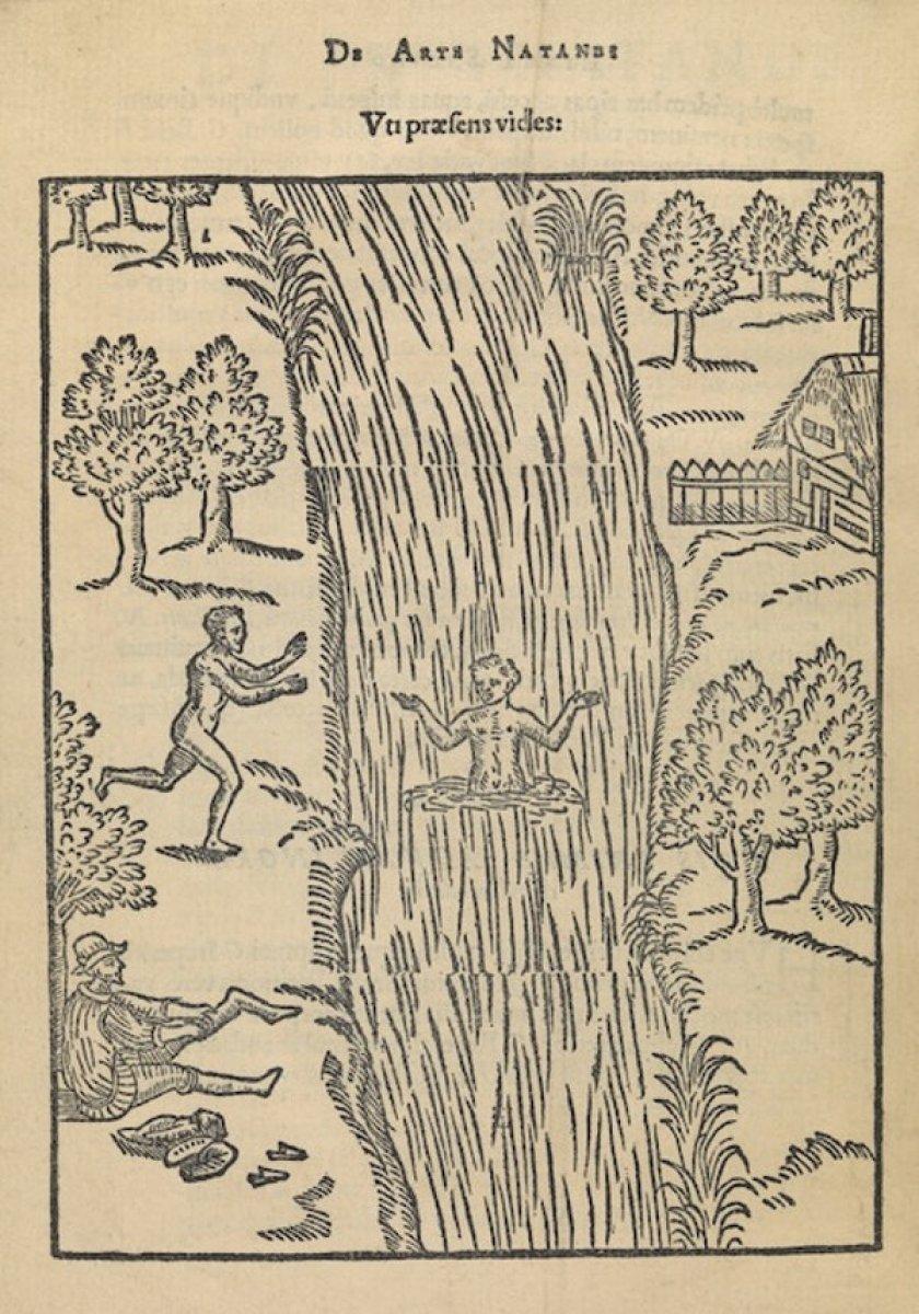 Tarihte yüzme ile ilgili yazılan ilk kitap: Yüzme Sanatı #2
