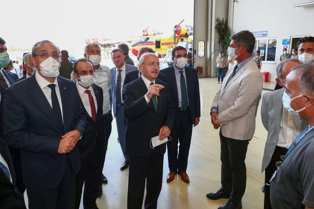 Kemal Kılıçdaroğlu ndan THK ziyareti sonrası açıklama #3