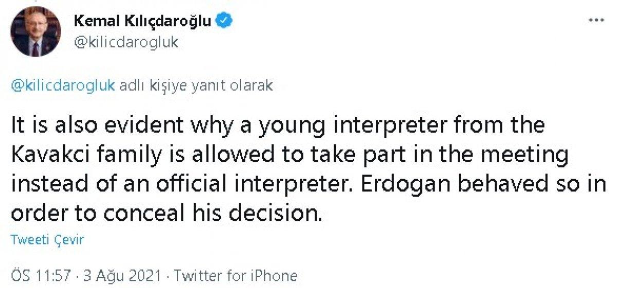 Kılıçdaroğlu ndan Afgan göçmen paylaşımı #6