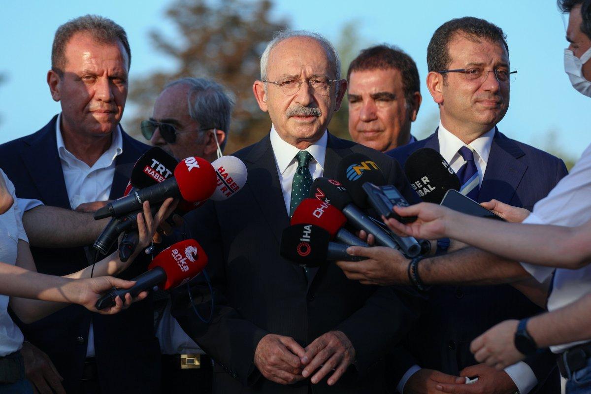 Kemal Kılıçdaroğlu ndan THK ziyareti sonrası açıklama #1
