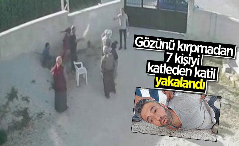 Konya'daki katliamın faili yakalandı