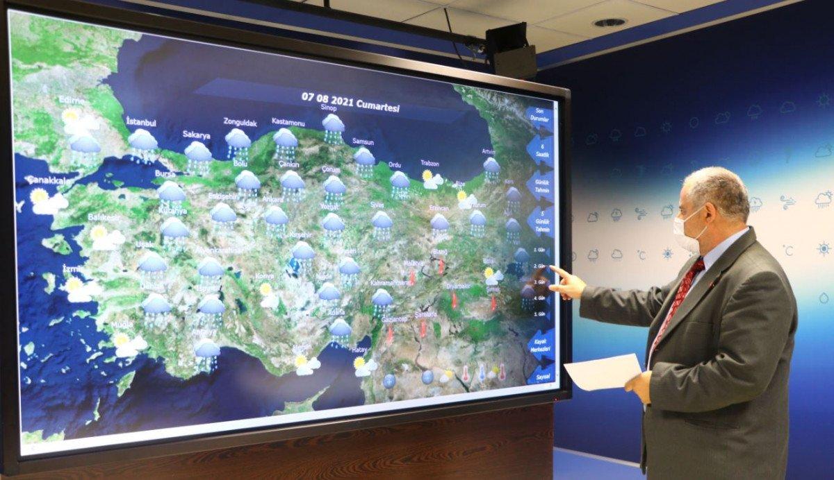 Meteoroloji den Antalya için yağış tahmini #2