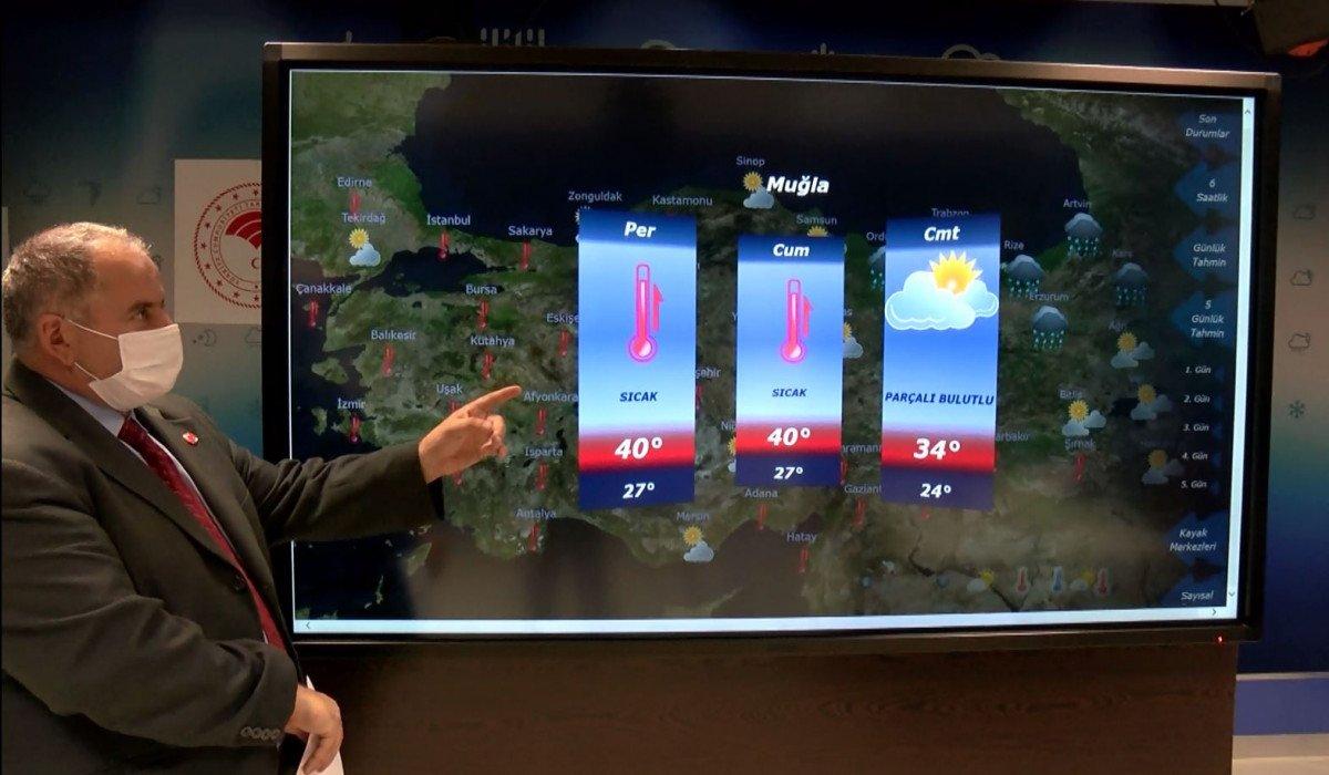 Meteoroloji den Antalya için yağış tahmini #3