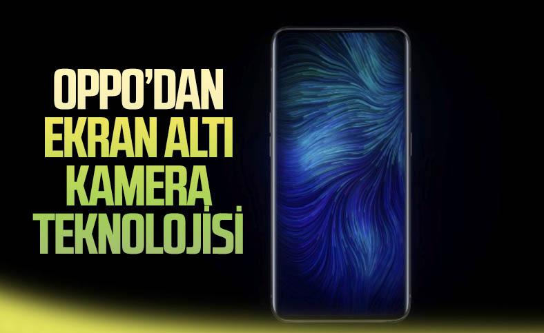 Oppo, yeni nesil ekran altı kamera teknolojisini tanıttı