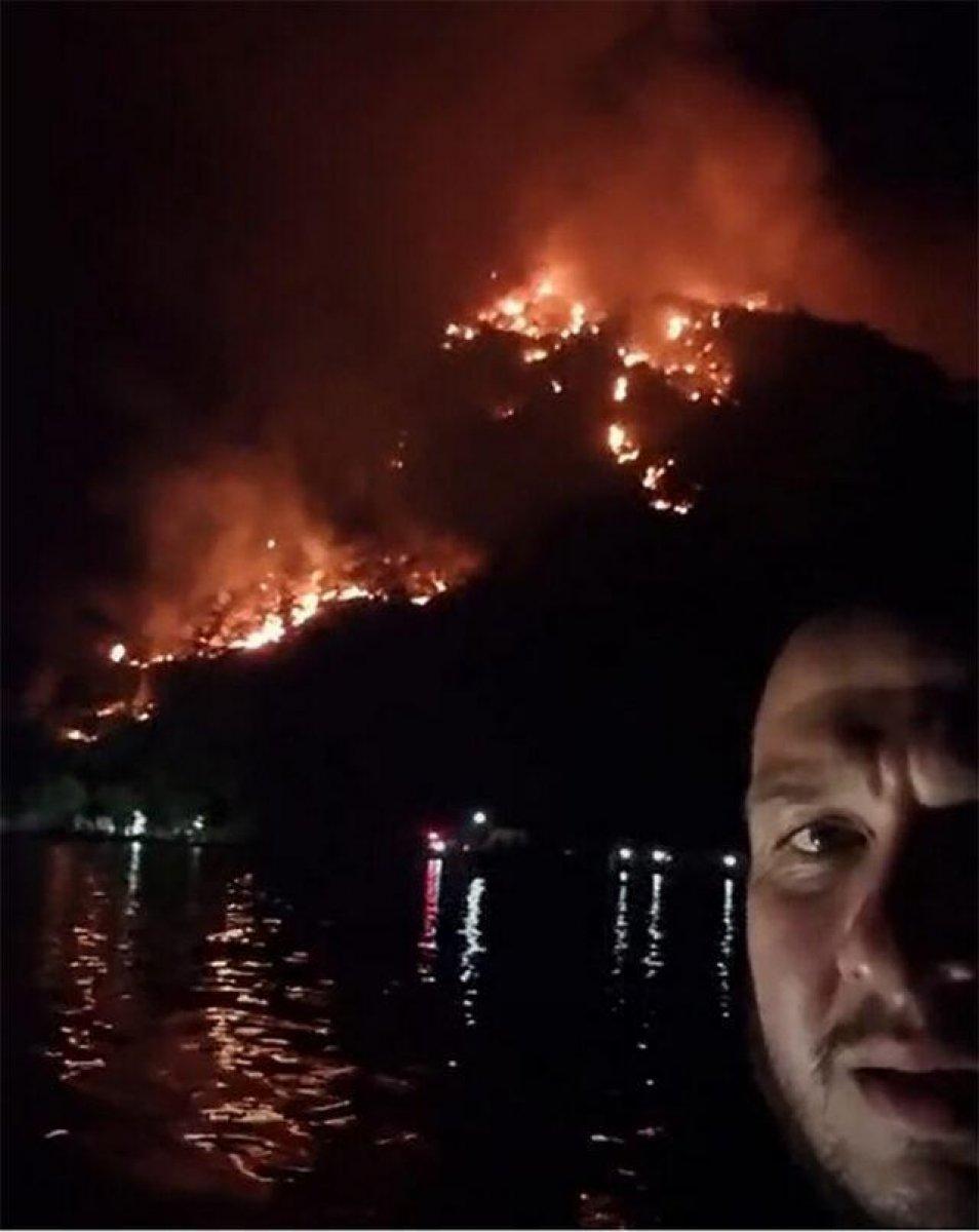 Yangın bölgesinde olan Şahan Gökbakar daha fazla dayanamadı: O gün geldiğinde..  #2