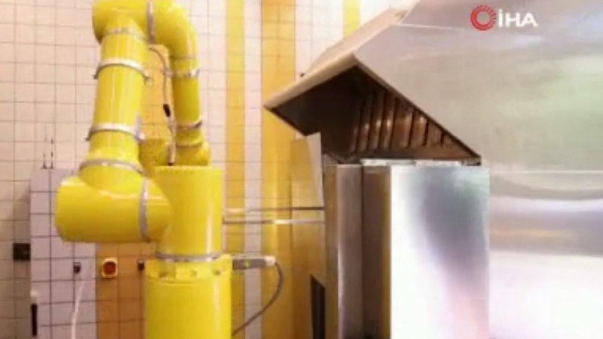 Şangay'da yapay zekalı restoran