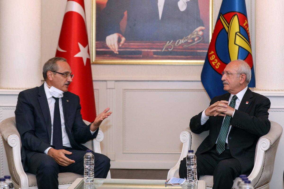 Kemal Kılıçdaroğlu ndan THK ziyareti sonrası açıklama #6