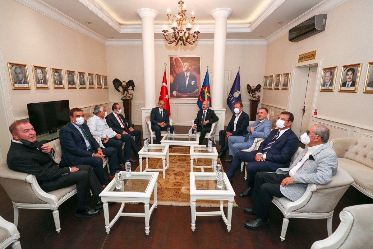 Kemal Kılıçdaroğlu ndan THK ziyareti sonrası açıklama #5