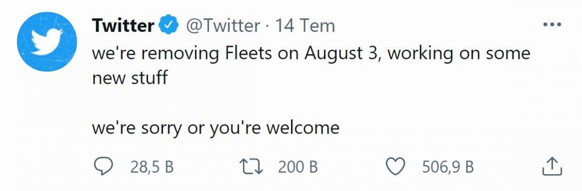 Twitter Fleets özelliği neden yok, kaldırıldı mı? Resmi açıklama geldi... #1