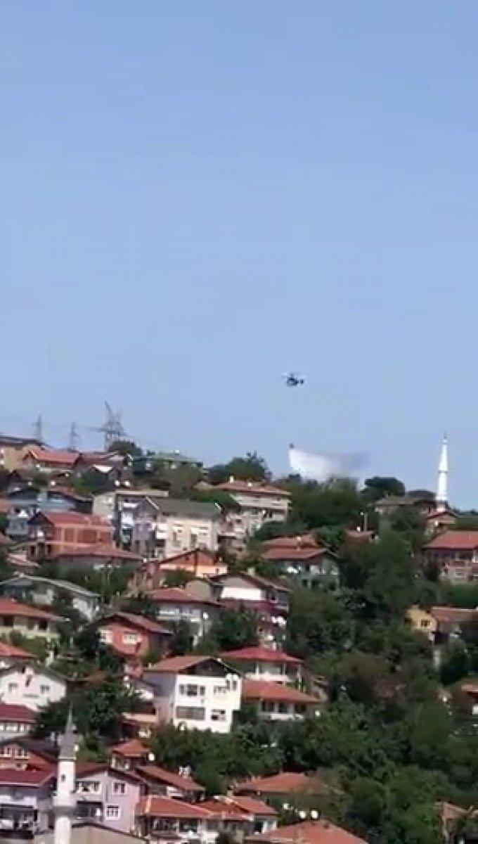Beykoz da orman yangını #7