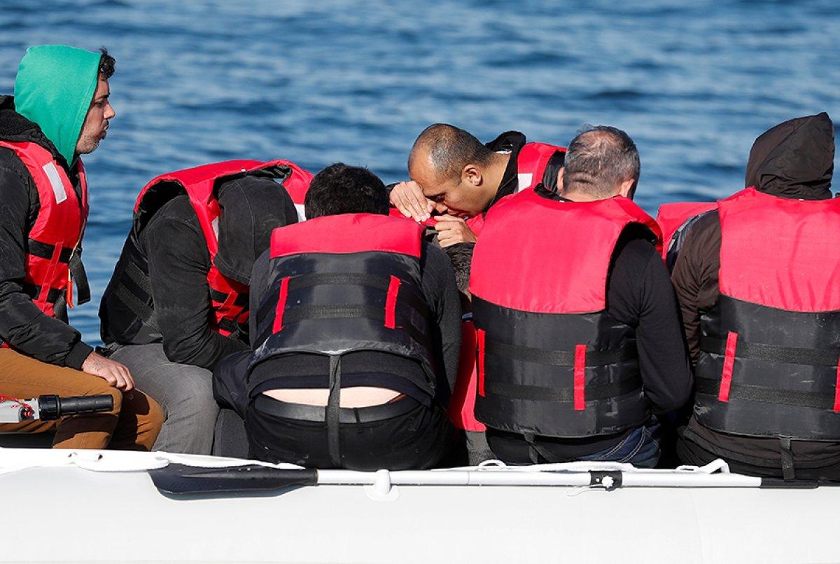482 göçmen, Manş Denizi ni geçti #7