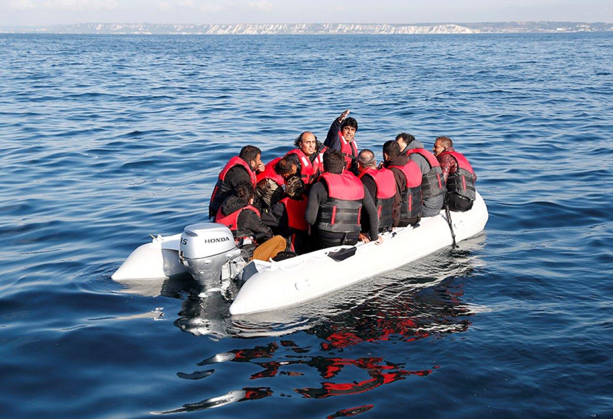482 göçmen, Manş Denizi ni geçti #2