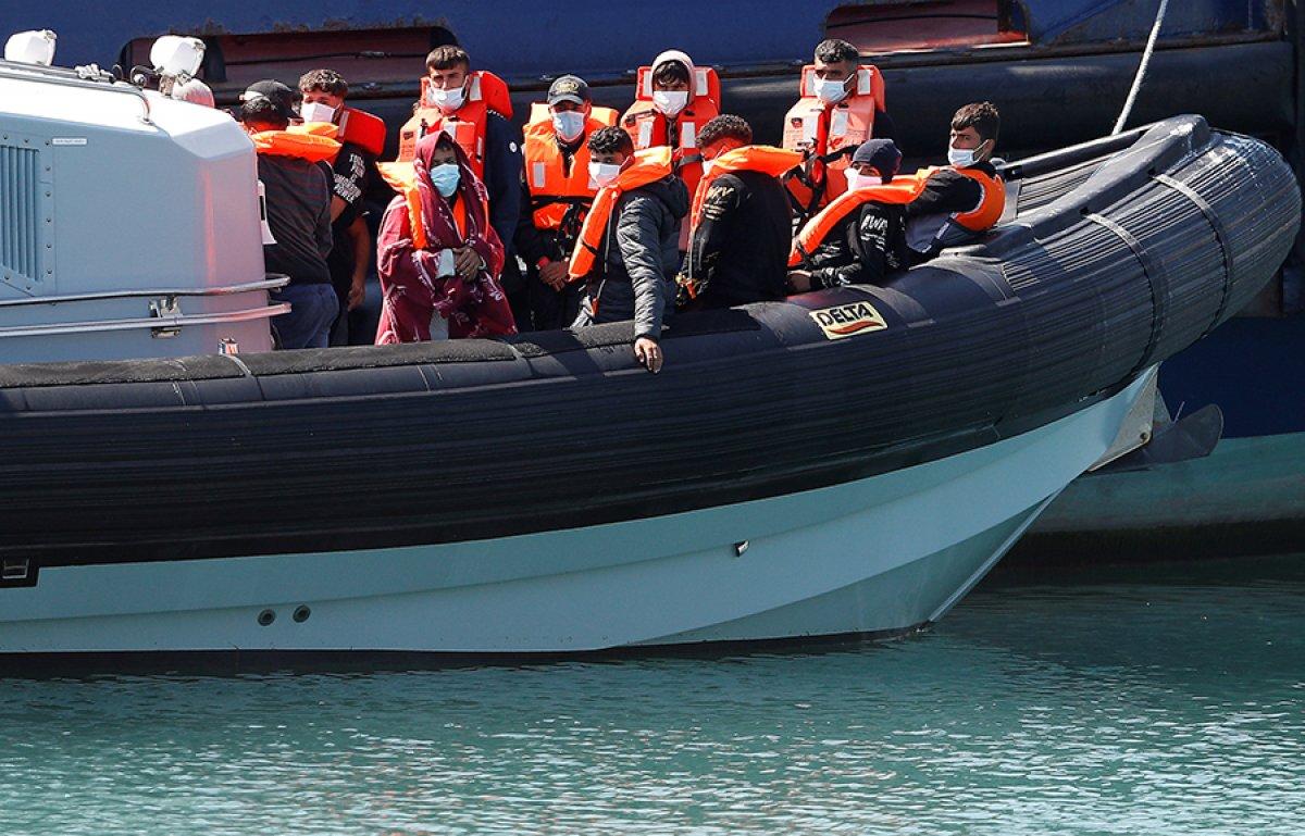 482 göçmen, Manş Denizi ni geçti #9