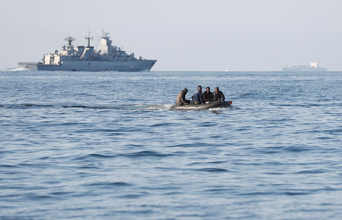 482 göçmen, Manş Denizi ni geçti #5
