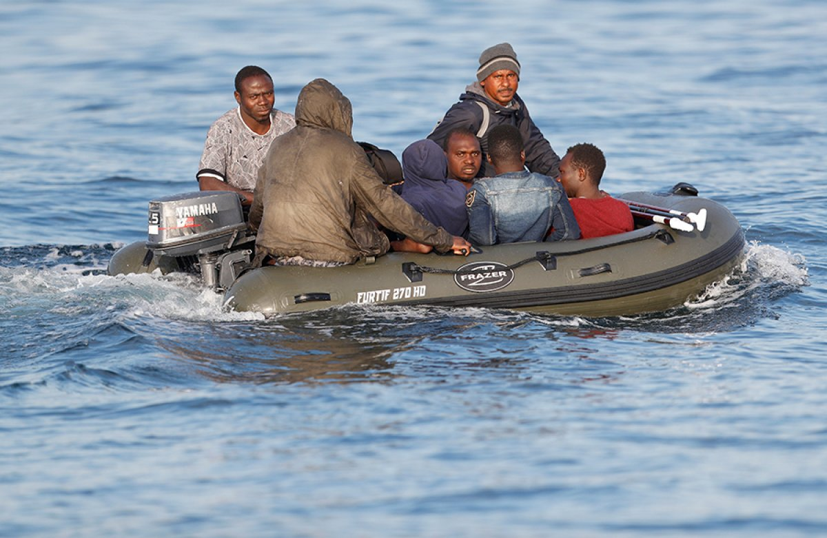 482 göçmen, Manş Denizi ni geçti #3
