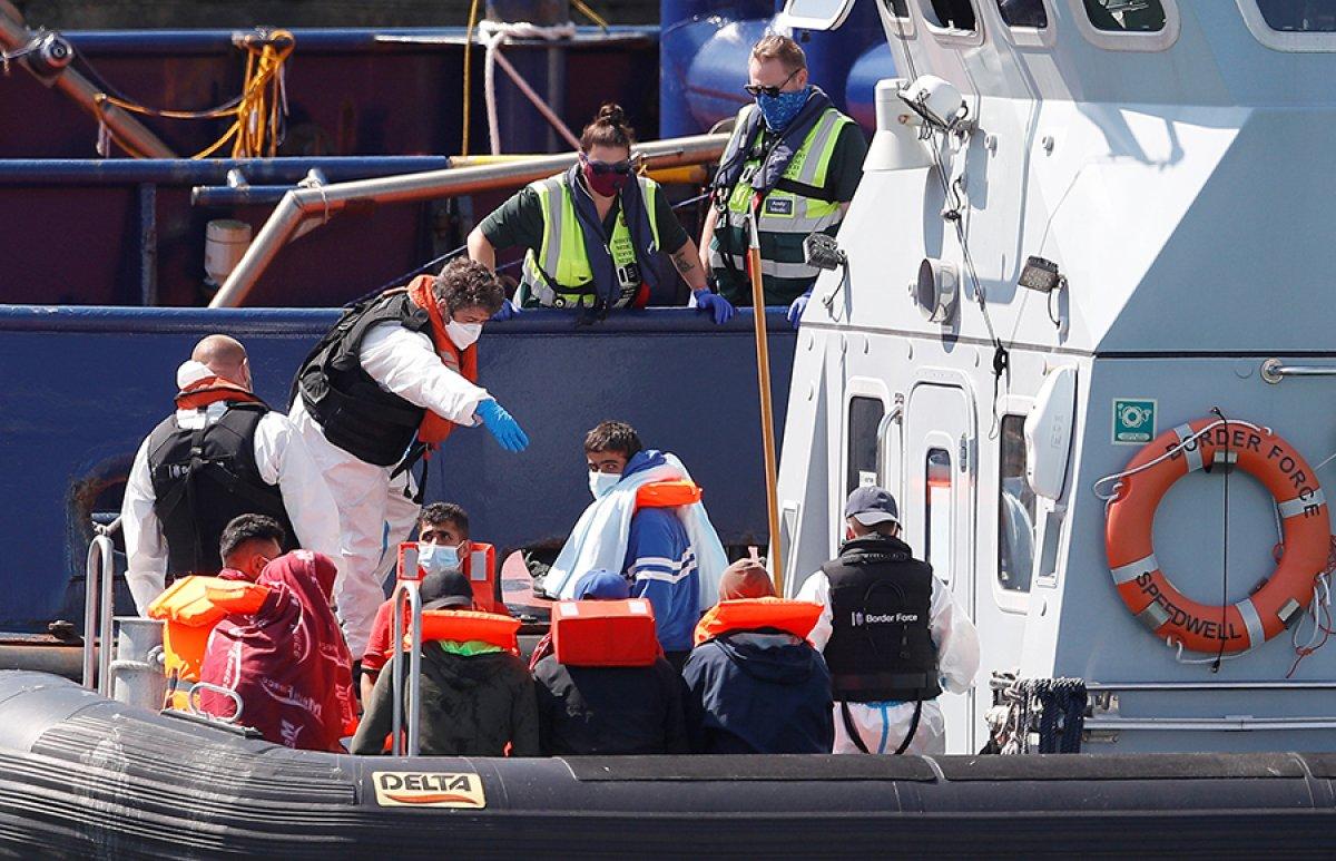 482 göçmen, Manş Denizi ni geçti #10