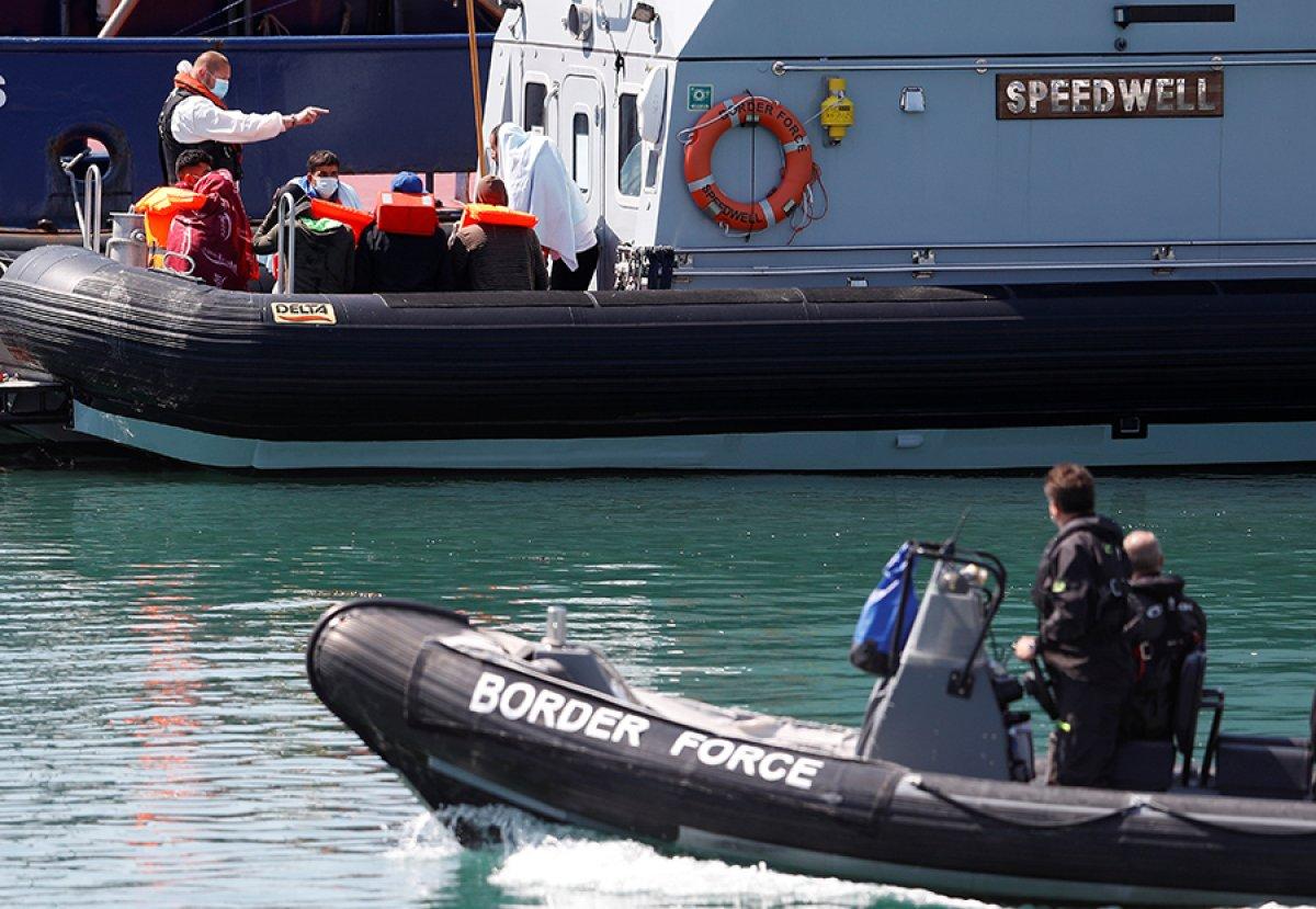 482 göçmen, Manş Denizi ni geçti #6