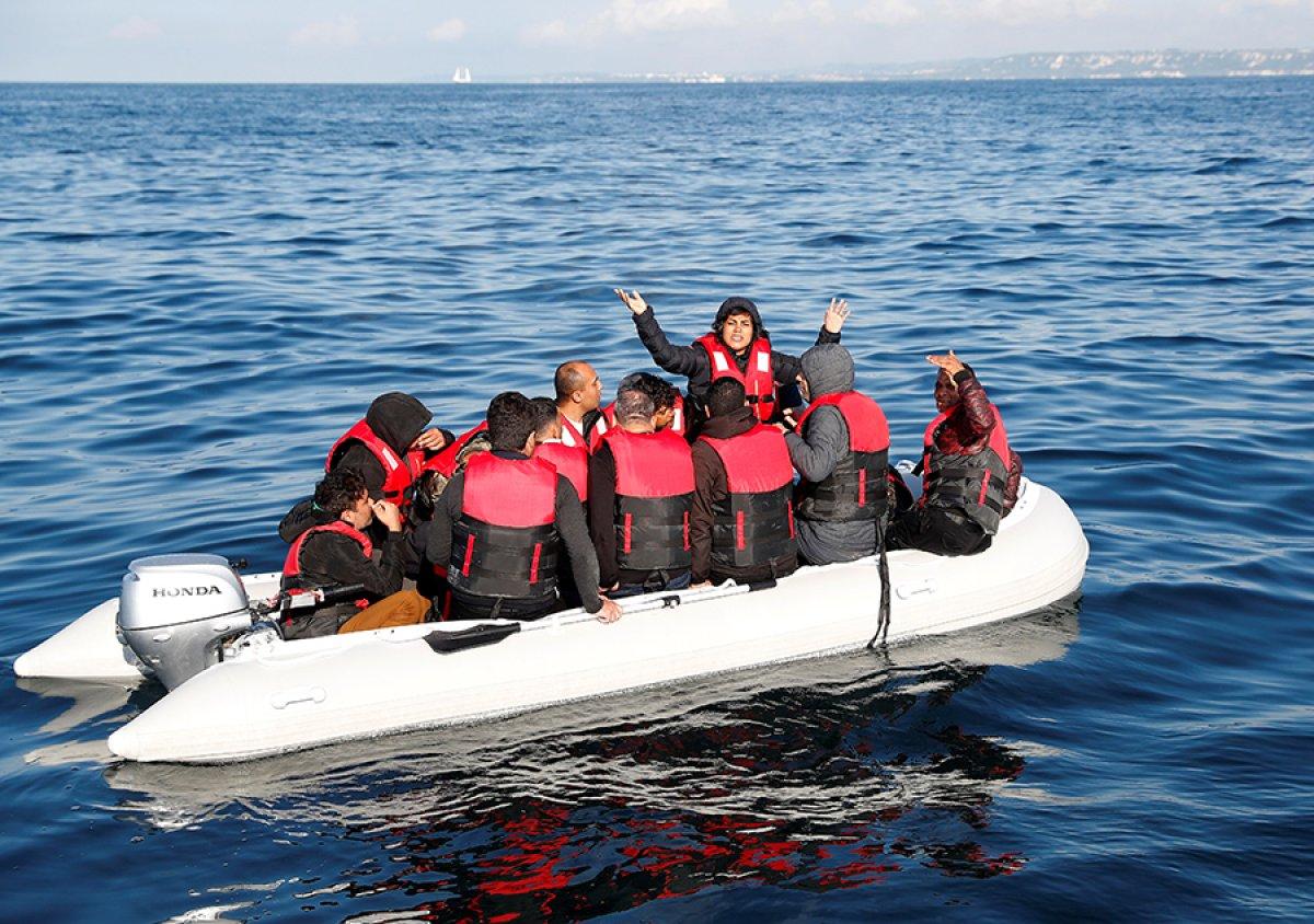 482 göçmen, Manş Denizi ni geçti #8