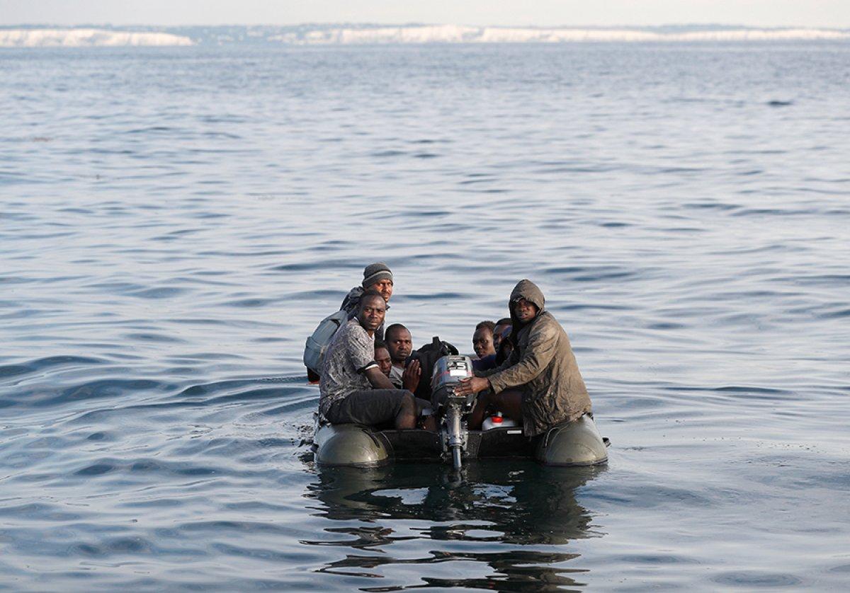 482 göçmen, Manş Denizi ni geçti #4