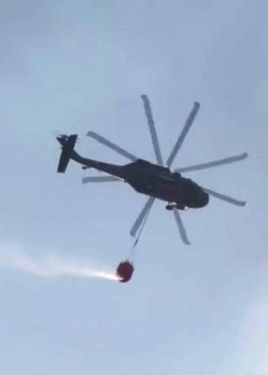 Sikorsky helikopter yangın söndürme filosuna katıldı #3