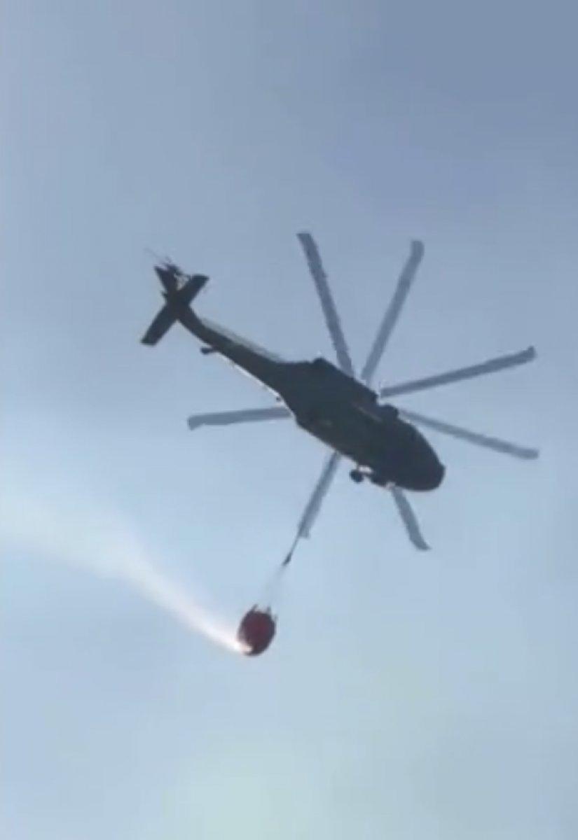 Sikorsky helikopter yangın söndürme filosuna katıldı #2