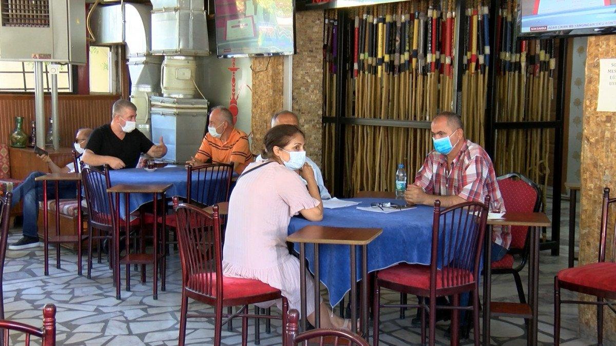 Aşısızların kahveye alınmaması uygulaması Başkent te başladı #1