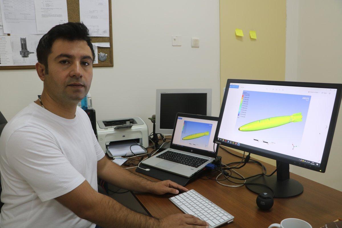 Malatya'da geliştirilen 'Yangın Söndürme Bombası' prototip üretim aşamasında #2