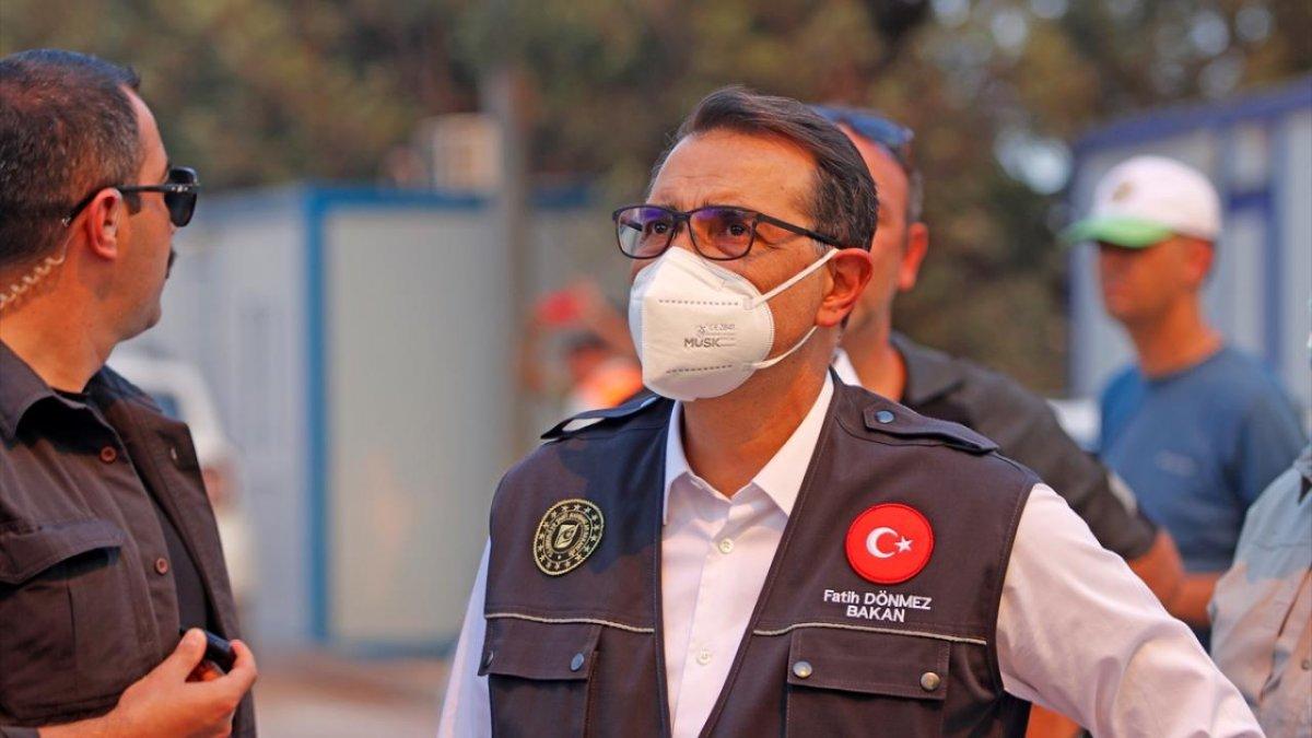 Fatih Dönmez: Santrali tehdit eden bir yangın söz konusu değil  #2