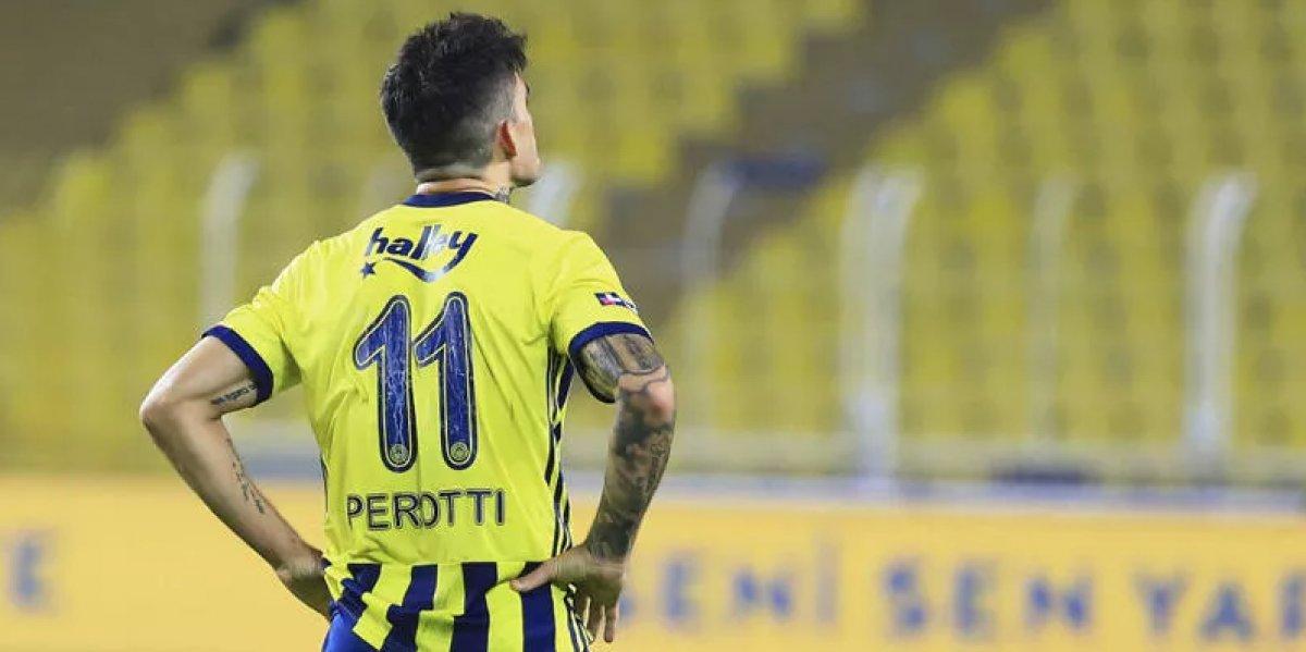 Fenerbahçe de Perotti ile fesih pazarlığı #1