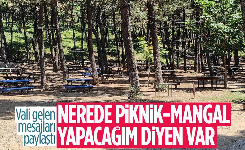 Kocaeli Valisi Seddar Yavuz: Türkiye yanıyor, piknik günü mü