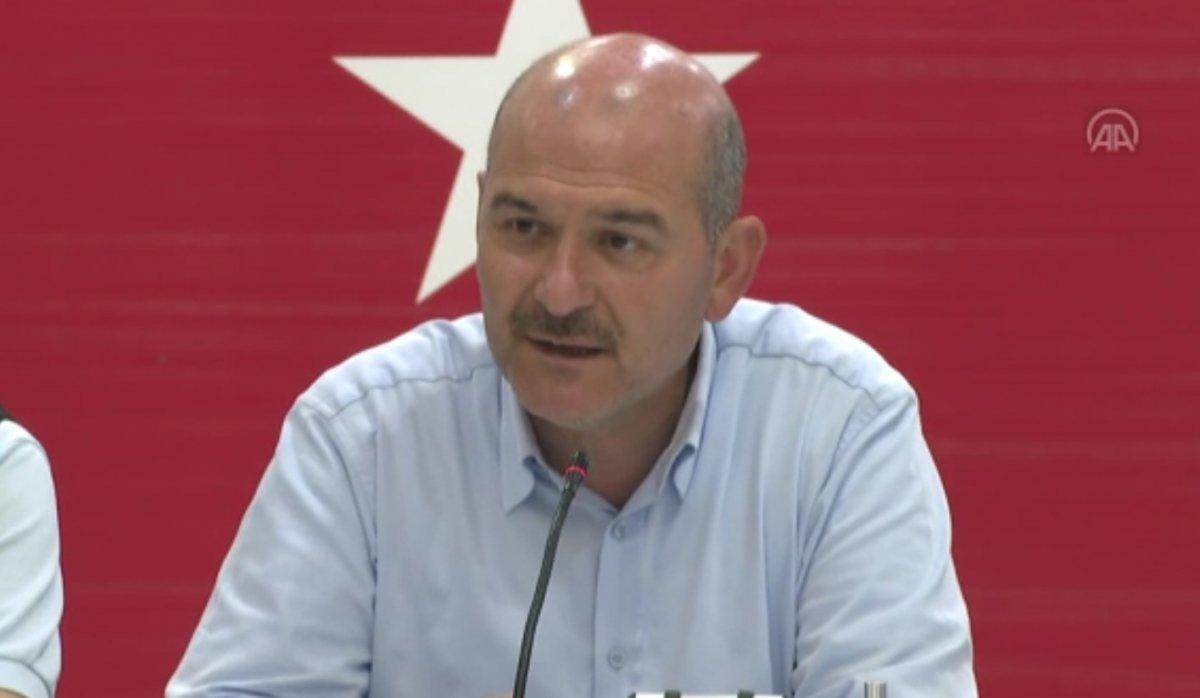 Süleyman Soylu dan sosyal medyada provokasyon yapanlarla ilgili açıklama #1