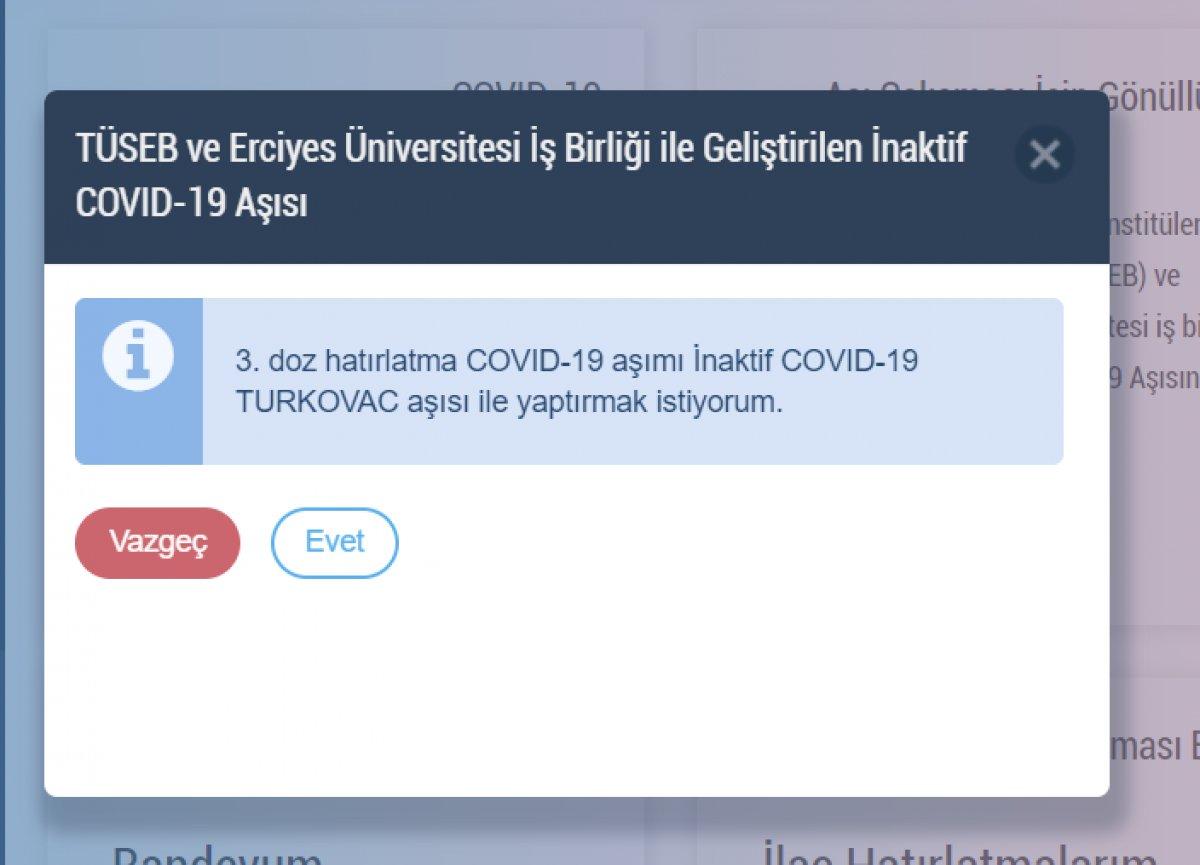 Turkovac randevu ekranı: Yerli aşı Turkovac gönüllüsü nasıl, nereden olunur? #3