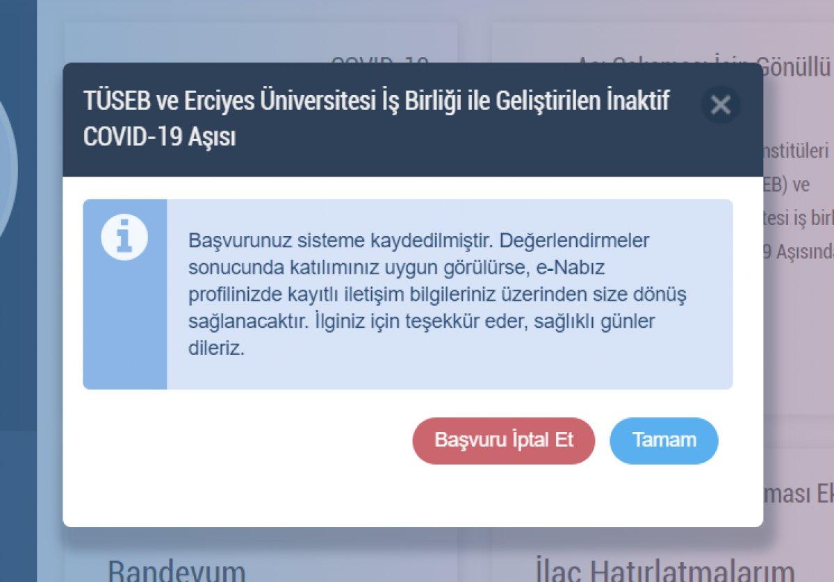 Turkovac randevu ekranı: Yerli aşı Turkovac gönüllüsü nasıl, nereden olunur? #4