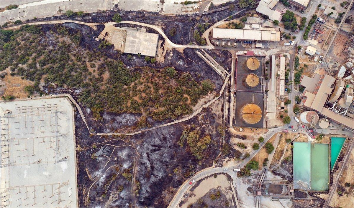 Kemerköy Termik Santrali havadan görüntülendi  #11