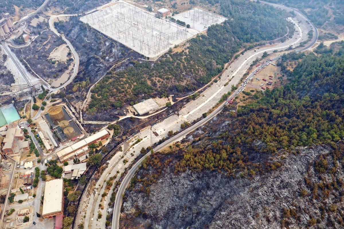 Kemerköy Termik Santrali havadan görüntülendi  #10