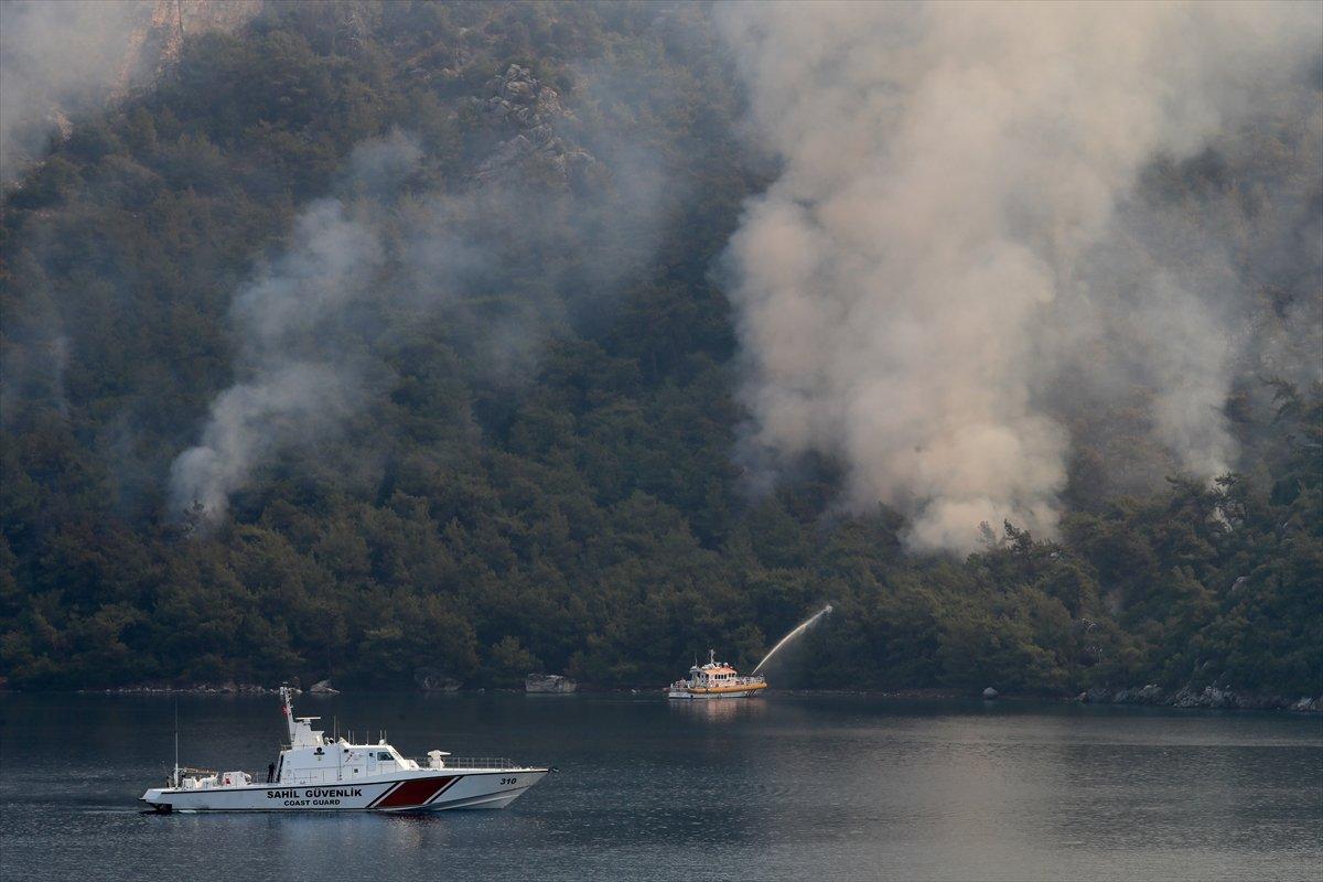 Orman yangınlarıyla mücadelede 9 uncu gün #4