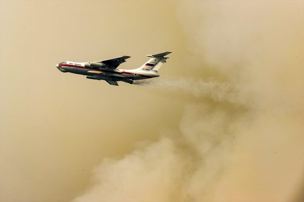 Orman yangınlarıyla mücadelede 9 uncu gün #3