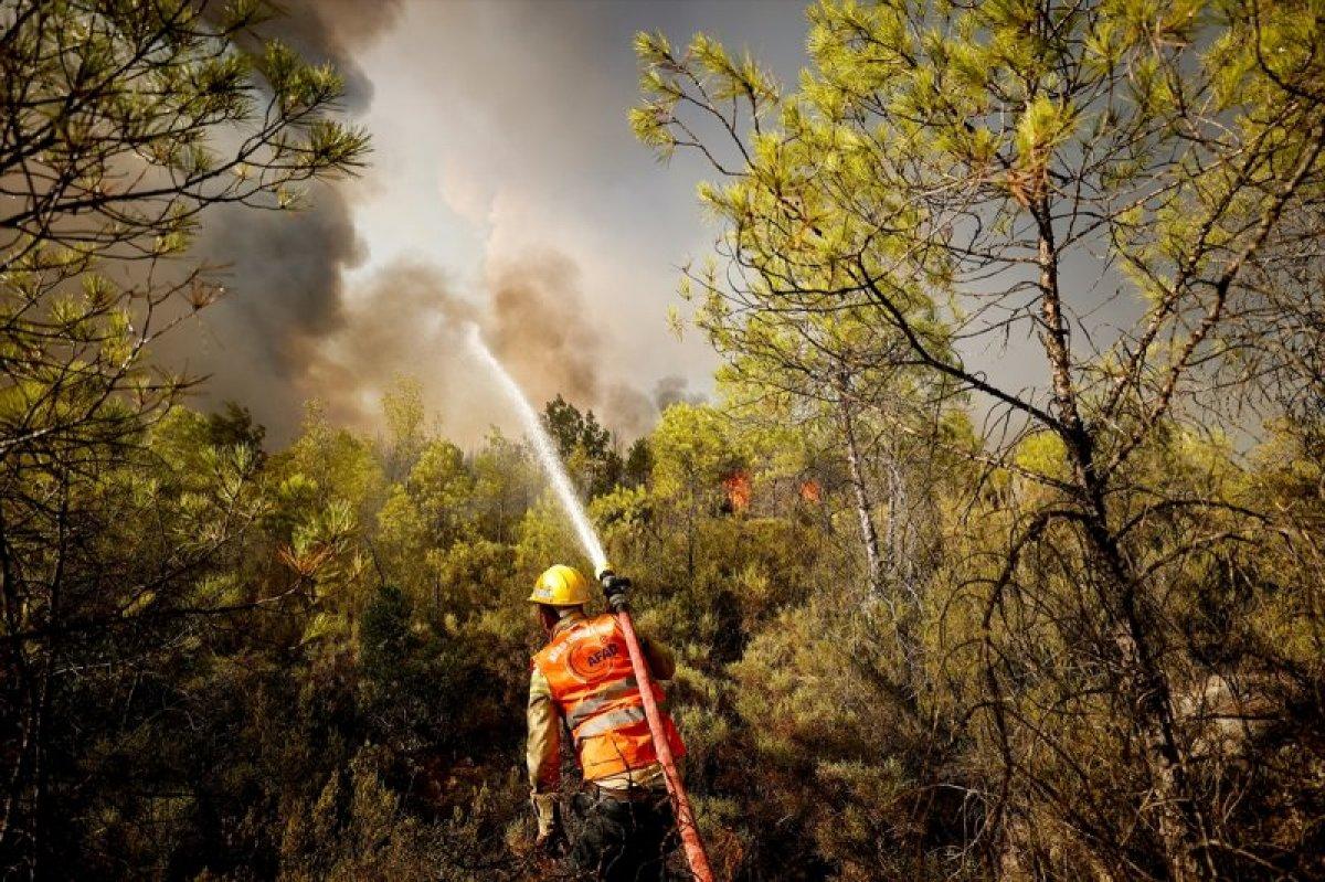 Manavgat ve Gündoğmuş yangınları kontrol altına alındı  #4