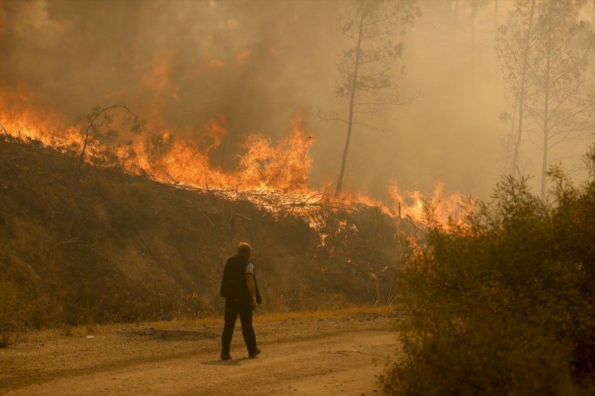 Manavgat ve Gündoğmuş yangınları kontrol altına alındı  #3