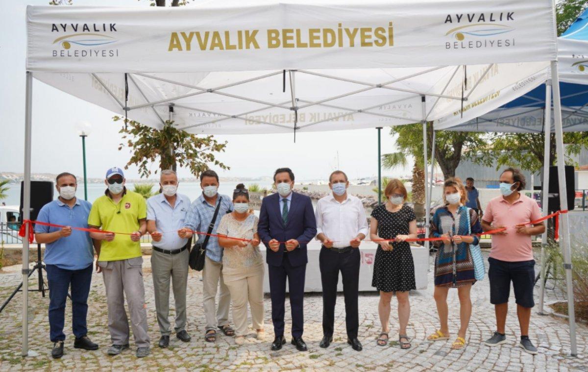 CHP li Ayvalık Belediyesi den heykel sempozyumu #1