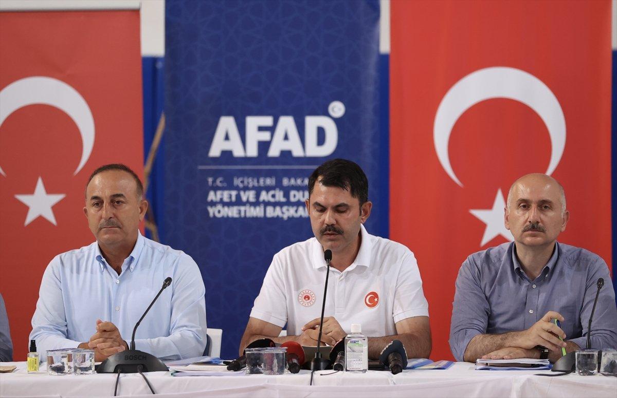 Antalya daki yangına ilişkin son durum  #1