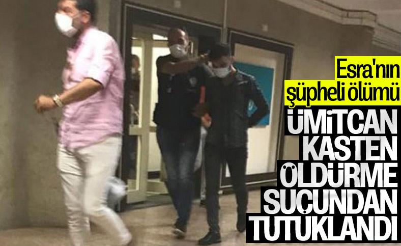 Ümitcan Uygun, Esra Hankulu'yu kasten öldürme suçundan tutuklandı