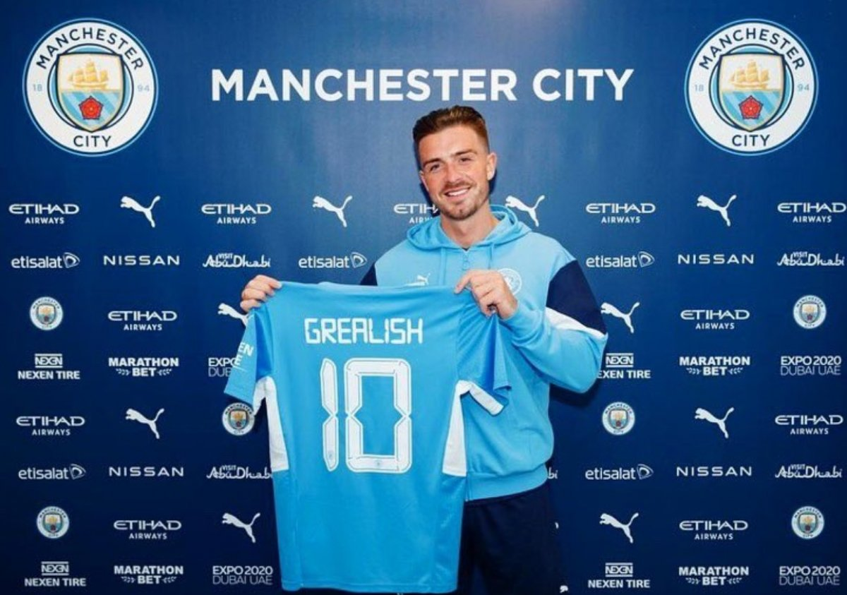 Jack Grealish, Manchester City ye transfer oldu #4