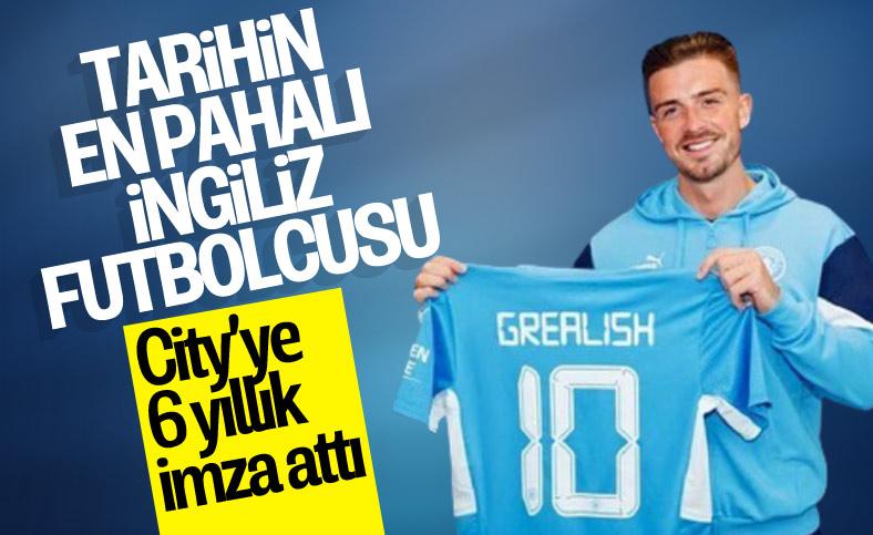 Jack Grealish, Manchester City'ye transfer oldu