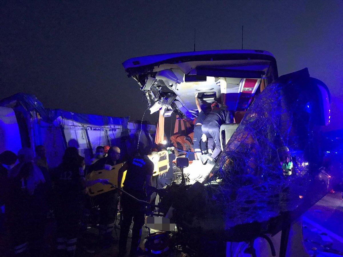 Manisa da feci kaza: Çok sayıda ölü var #5
