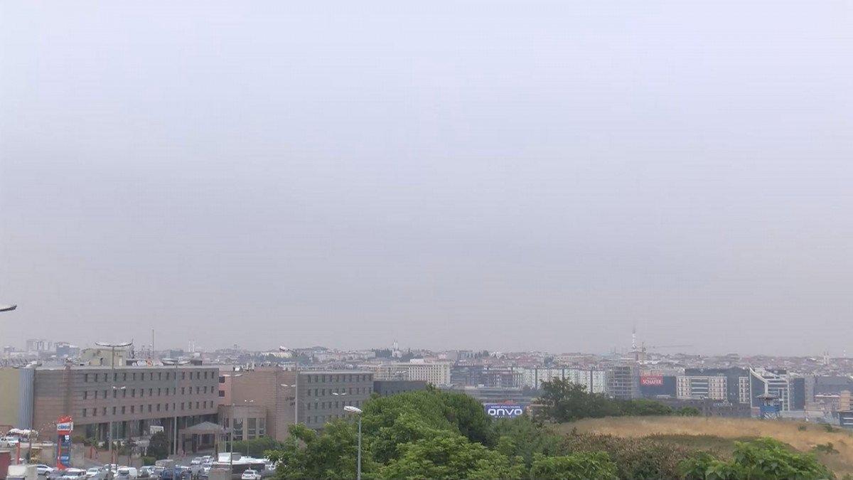 İstanbul da kül bulutu #2