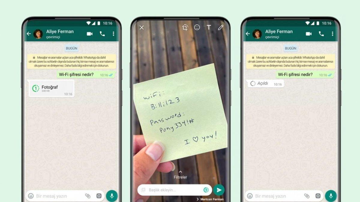 WhatsApp tan çok konuşulacak özellik! WhatsApp View Once özelliği nedir, nasıl kullanılır? #2