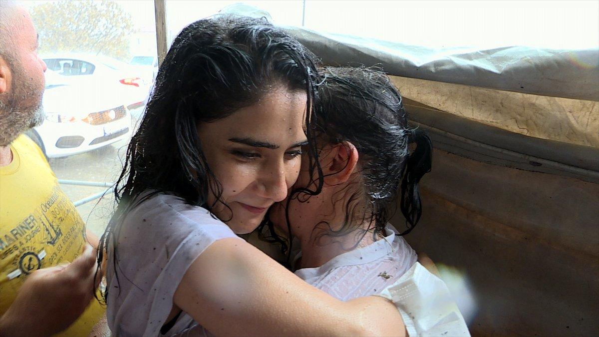 Antalya da sağanak yağış sevinci #8