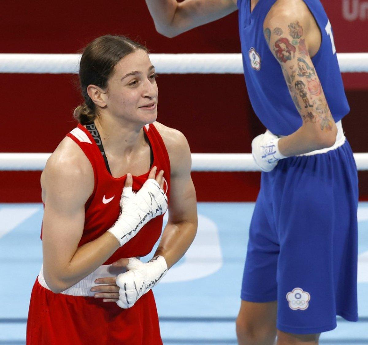 Buse Naz Çakıroğlu, olimpiyat ikincisi oldu #1