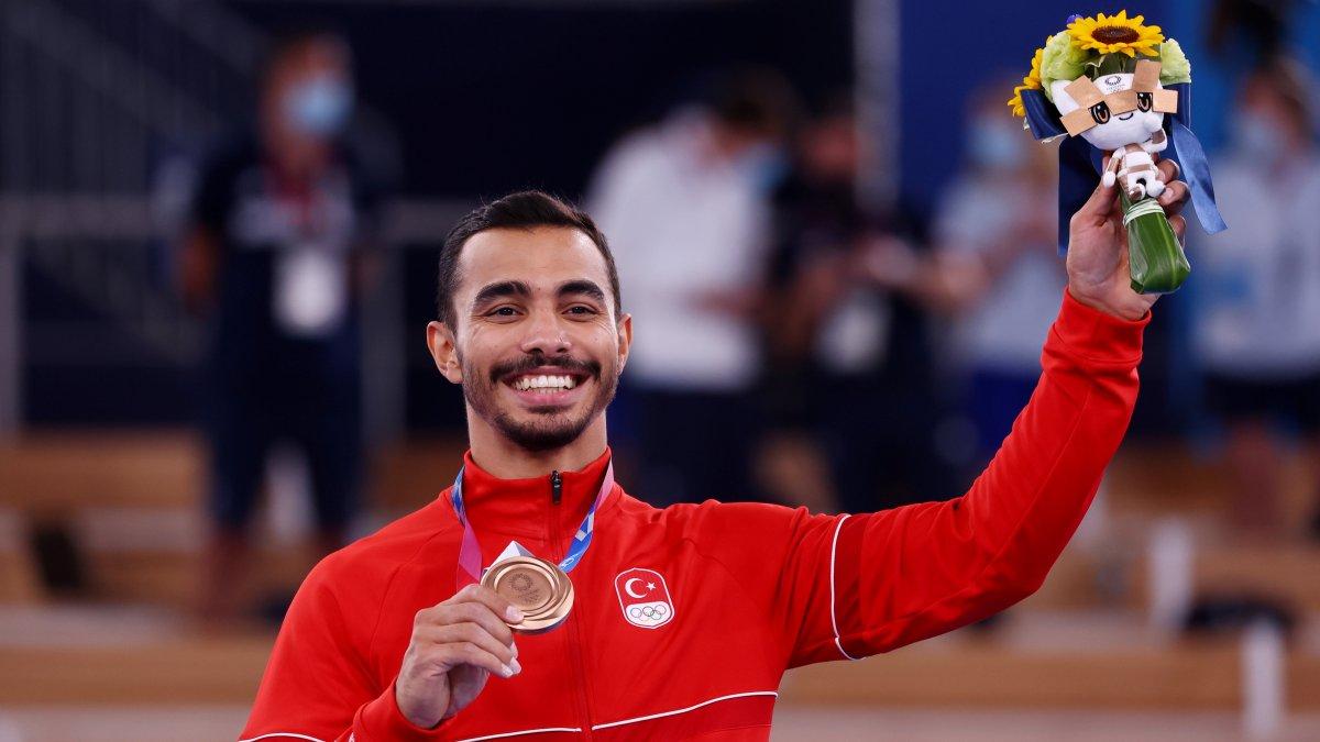 Tokyo 2020 den madalyayla dönen sporcularımız #10
